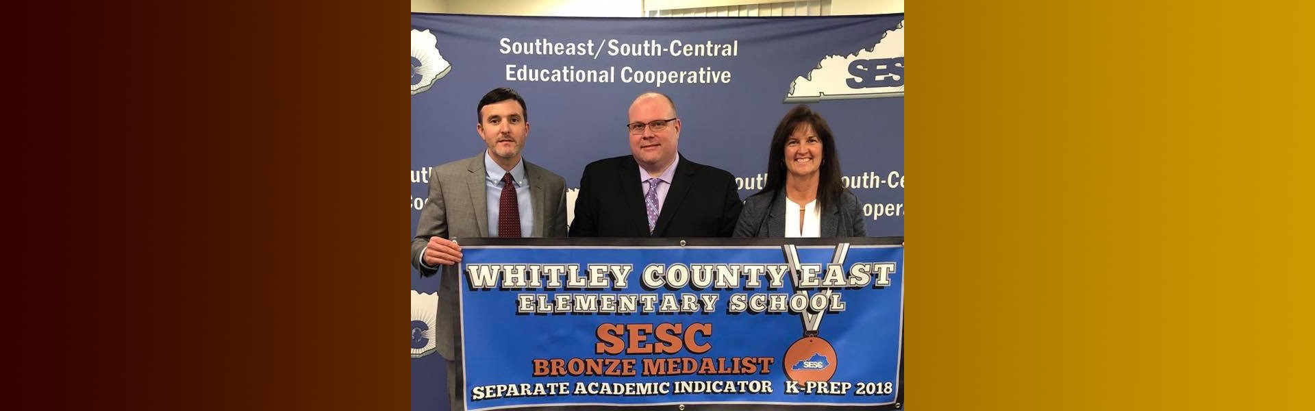 Whitley East Recognition for State Testing Scores!