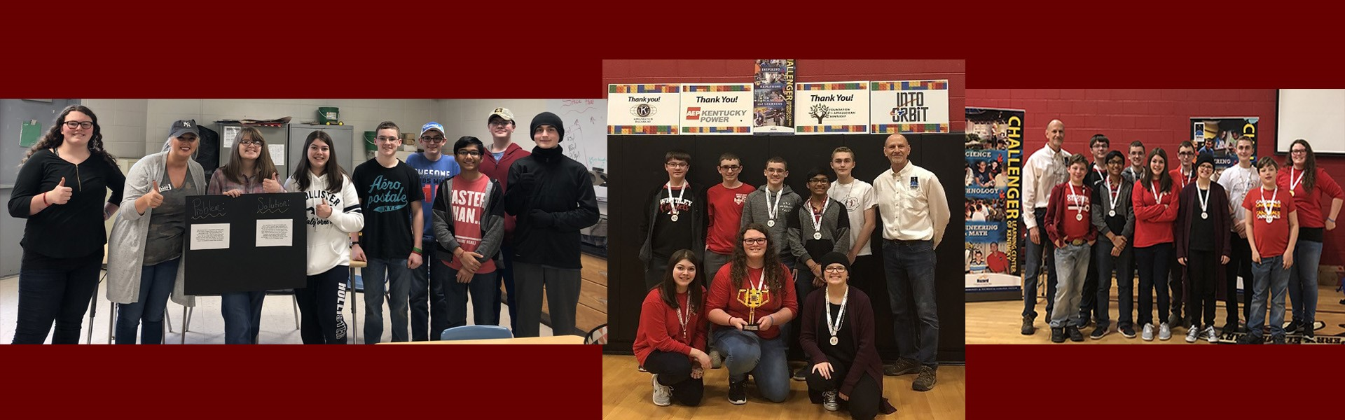 WCMS Robotics Wins First Place