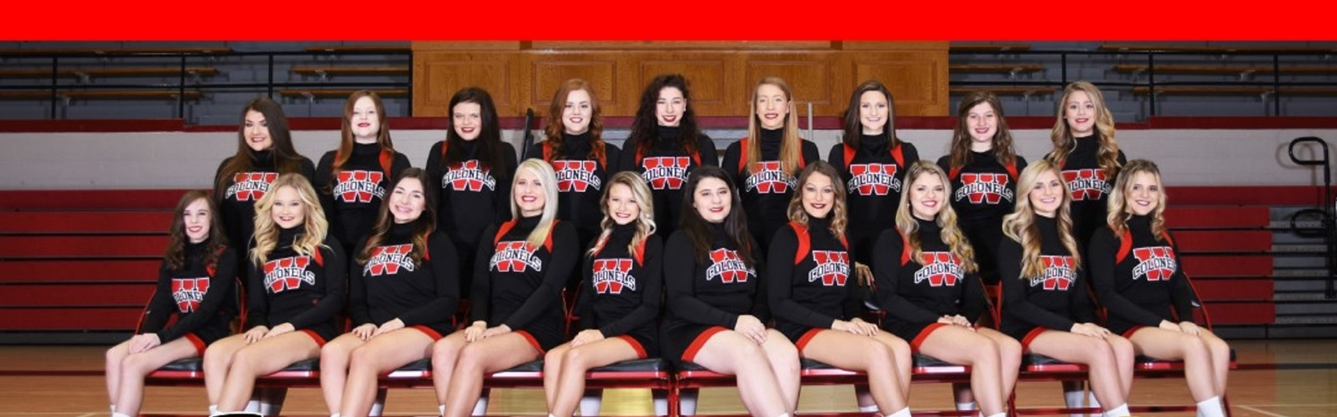 WCHS Cheerleaders (Courtesy of Scott Powell Photography)